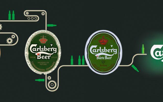 ההיסטוריה של לוגו קרלסברג