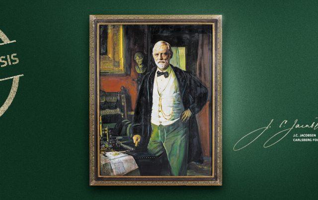 ג'ייקובסן המייסד של בירת קרלסברג
